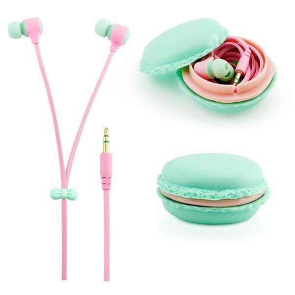 Cute earbuds with case - earphones with microphone with case