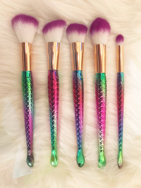 MerTail™ - Mermaid Makeup Brushes
