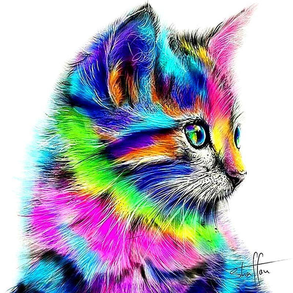 Rainbow Kitten - GemPaint™ Kit