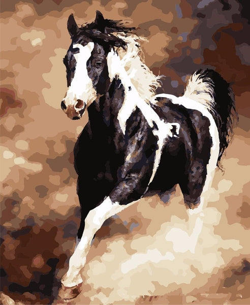 Galloping Horse - Van-Go Paint-By-Number Kit