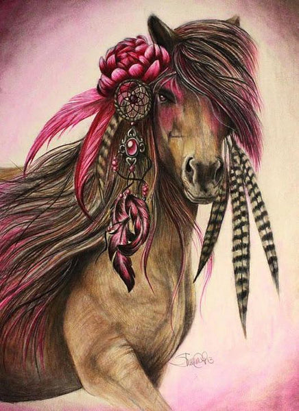 Dream Catching Wild Horse - GemPaint™ Kit
