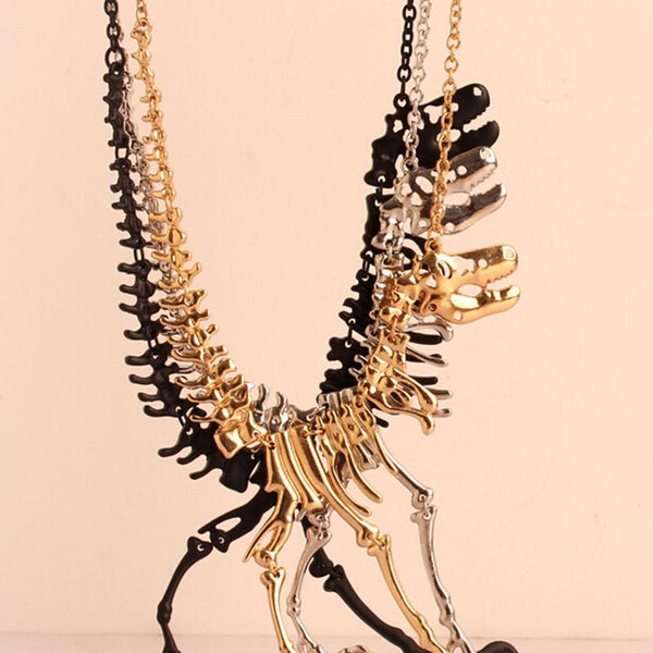 T-Rex Charm Necklace