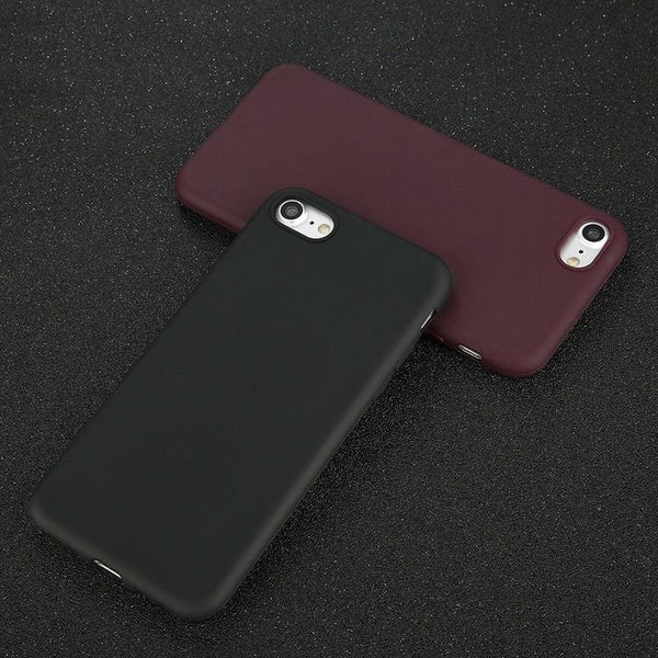 Aleta - Soft Silicone Matte iPhone Case