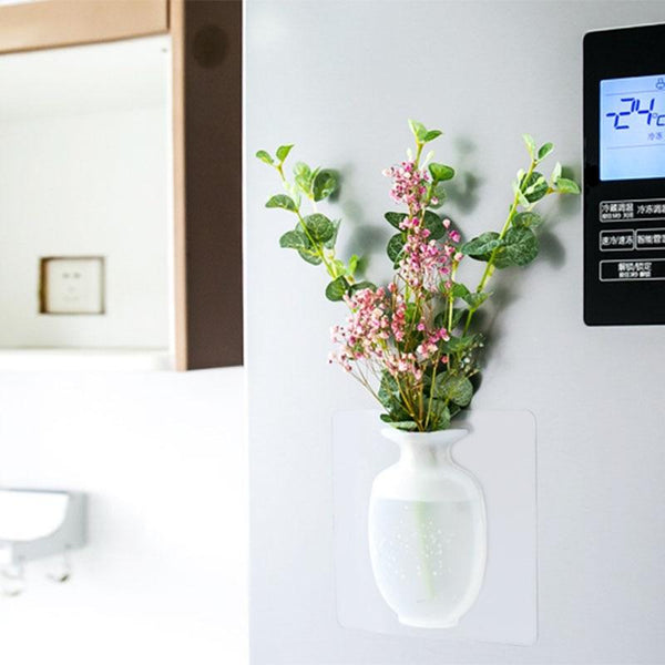 Silicone Sticky Wall Vase