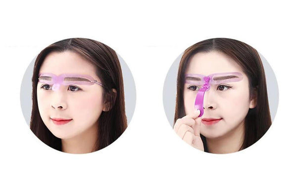 Eyebrow Shaping Template Stencil
