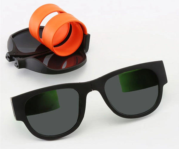 Polarized Snap Wristband Sunglasses