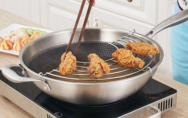 Ussi - Frying Draining Shelf
