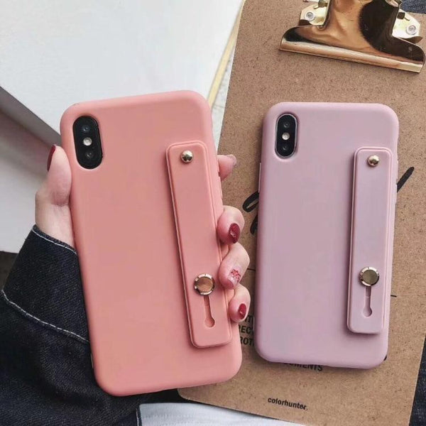 Candy Holding Strap Phone Case