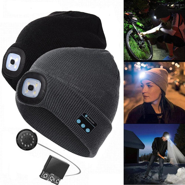 Smart LED All-in-One Beanie