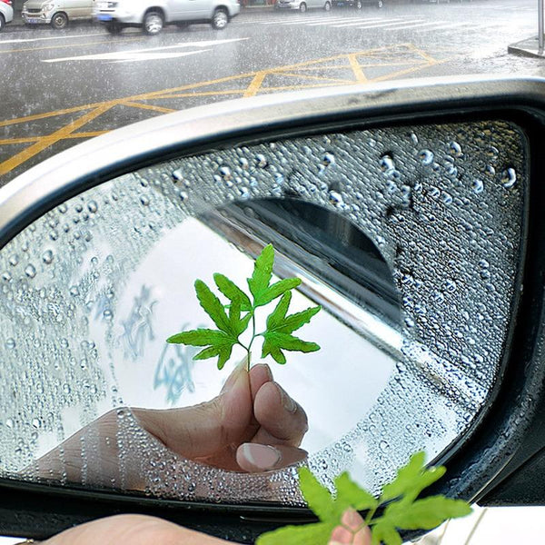 2 Set Anti Fog & Water Proof Car Mirror Film