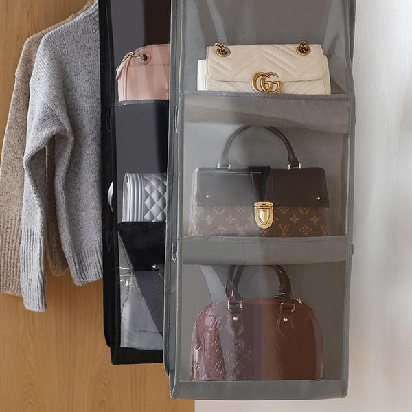 Multi Pocket Hanging Purse Organizer