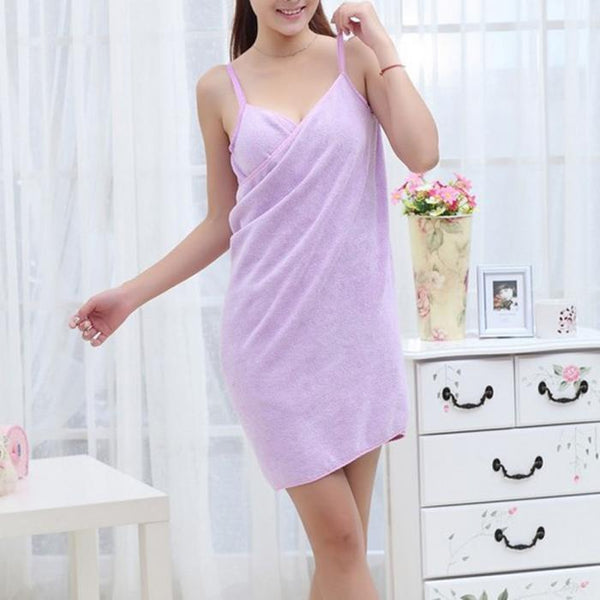 Alba - After Shower Wrap Towel Dress