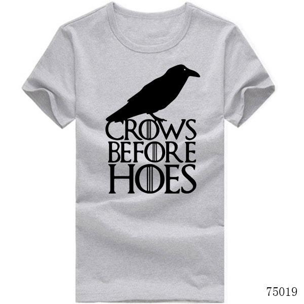 Crows Before Hoes - Men's T-Shirt