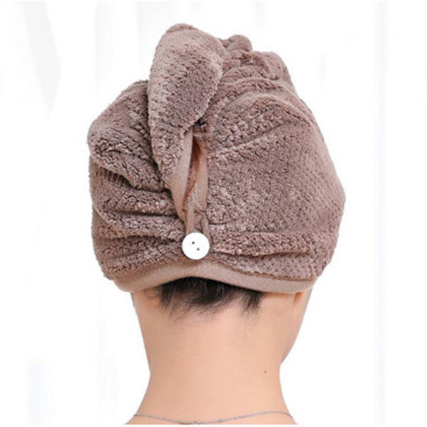 Fast Dry Hair Wrap Towel