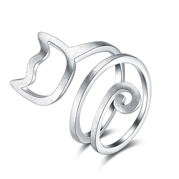 CatCling - Spiral Cat Ring