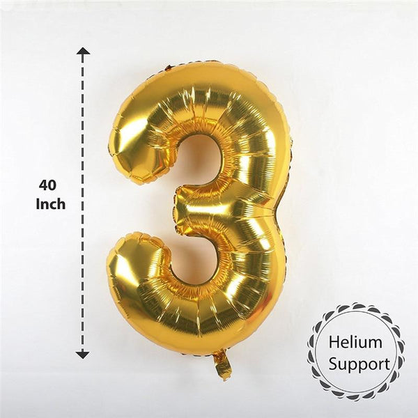 Large Helium Birthday Balloons