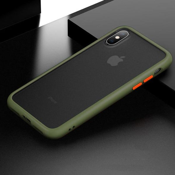 Armor - Anti-Knock Matte iPhone Cover