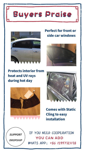 Car Window Sunshade Cover
