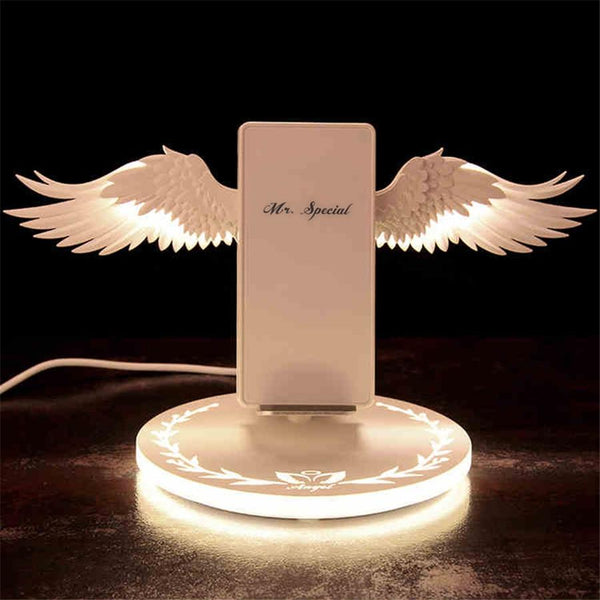 Angel Wing LED Wireless Charger