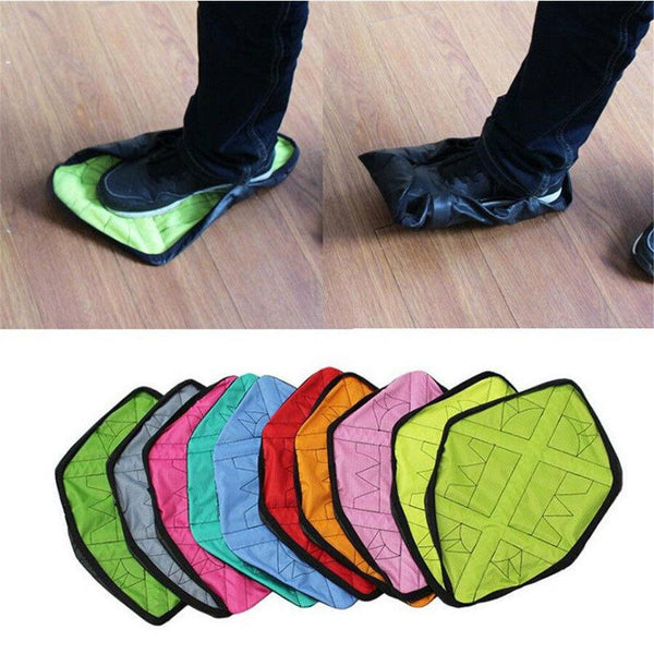 CoverEm - Hands-Free Durable Automatic Shoe Cover
