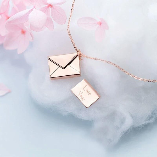 Love Letter Pendant Necklace