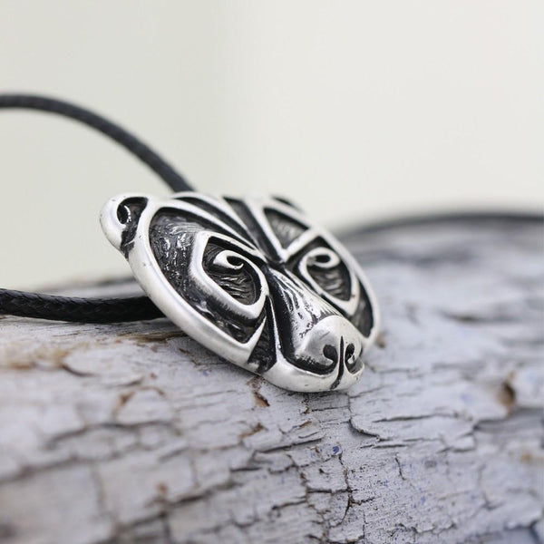 Norse Bear Amulet Necklace - Free Shipping