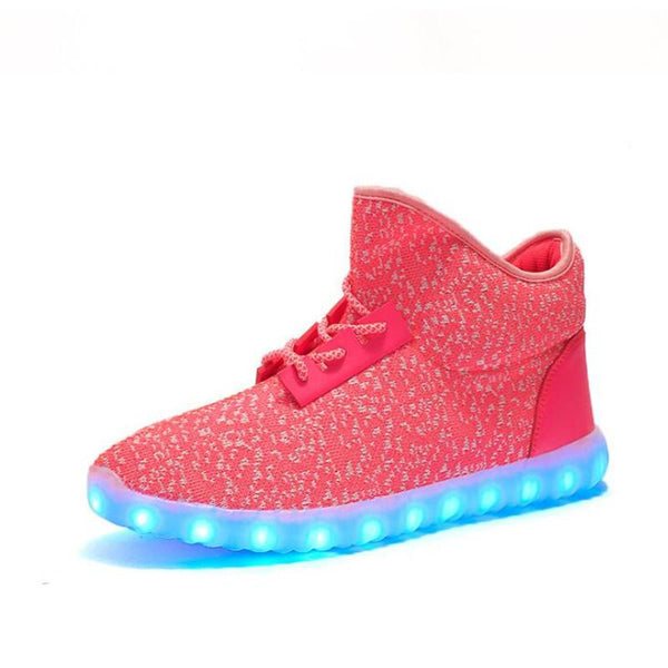 Light Up Yeezy-Inspired Shoes
