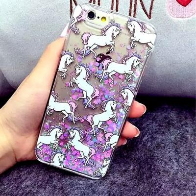 Uincorn Glitter iPhone Case