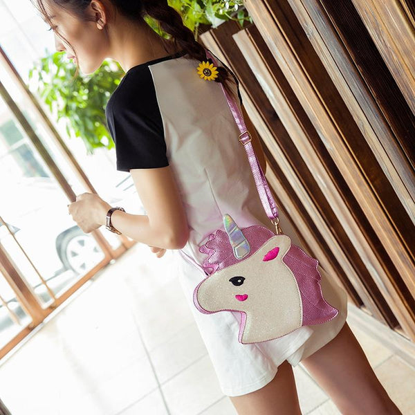 Unicorn Shoulder Handbag