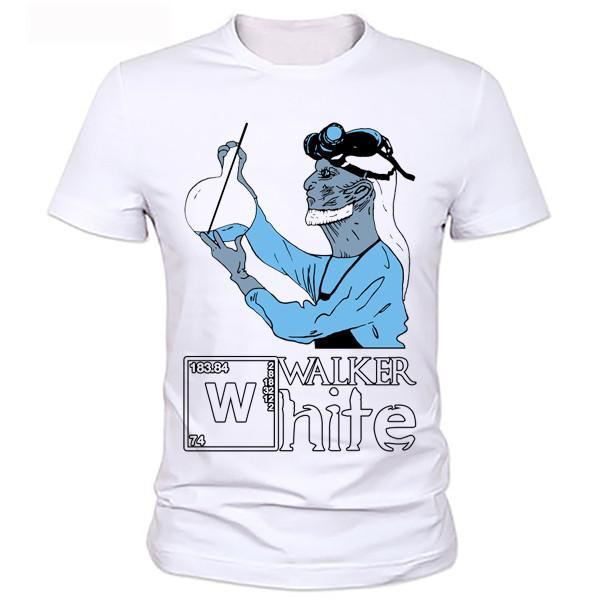 Walker White T-Shirts (Women's & Men's)