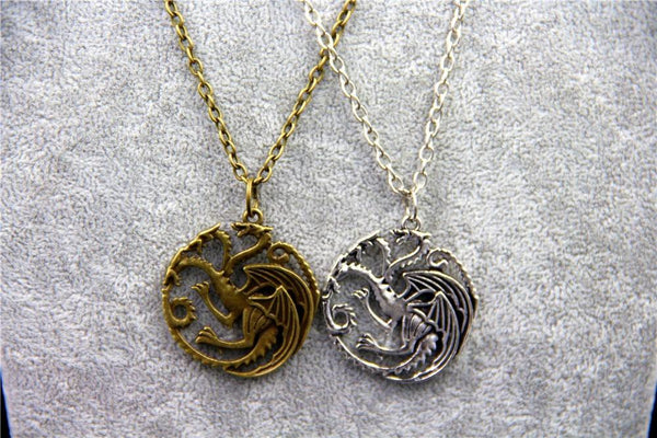 House Targaryen Dragon Sigil Necklace - Game of Thrones