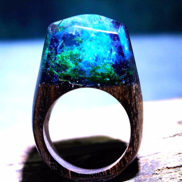 Quanta - Underwater World Resin Ring