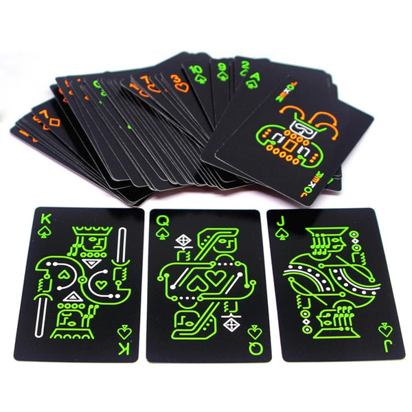 GloStack - Glow-in-the-Dark Poker Cards