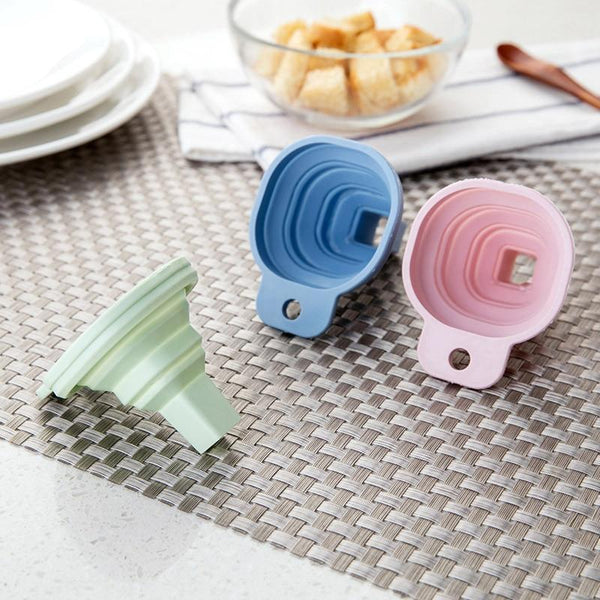 Coli - Collapsible Silicone Funnel