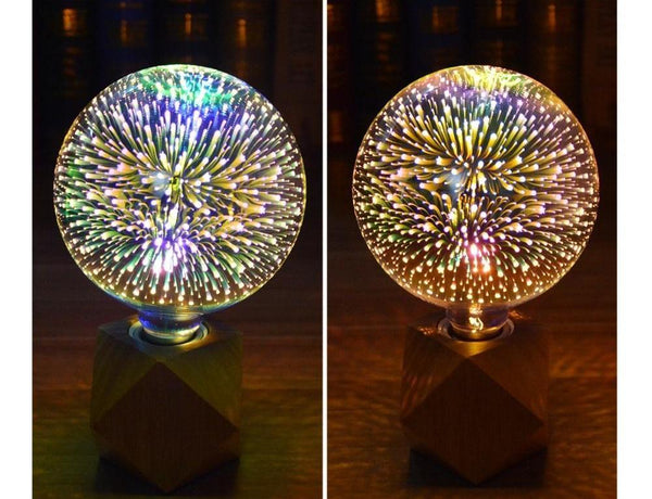 3D LED Holiday Light Bulbs