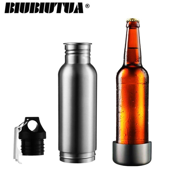 Stainless Steel Insulated Bottle Holder