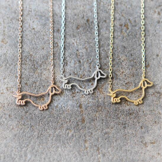 Dachshund Pendant Necklaces