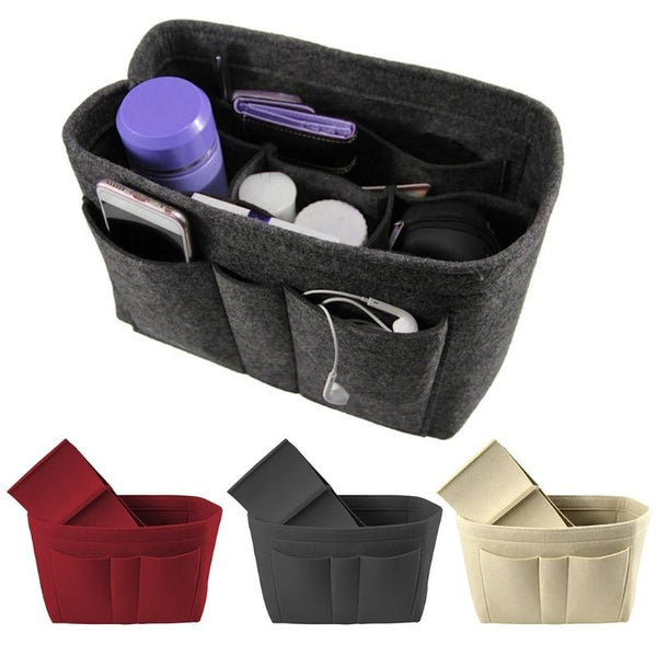 Multi Pocket Handbag Organizer