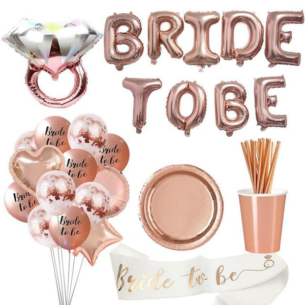 Bride To Be Bachelorette Party Decorations