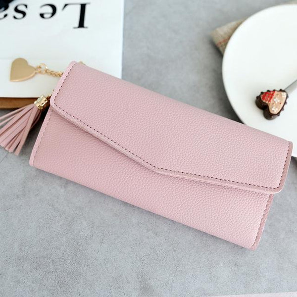 Karina - Modern Clasp Clutch Purse