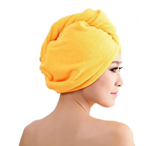 Dry Fast Hair Wrap Towel