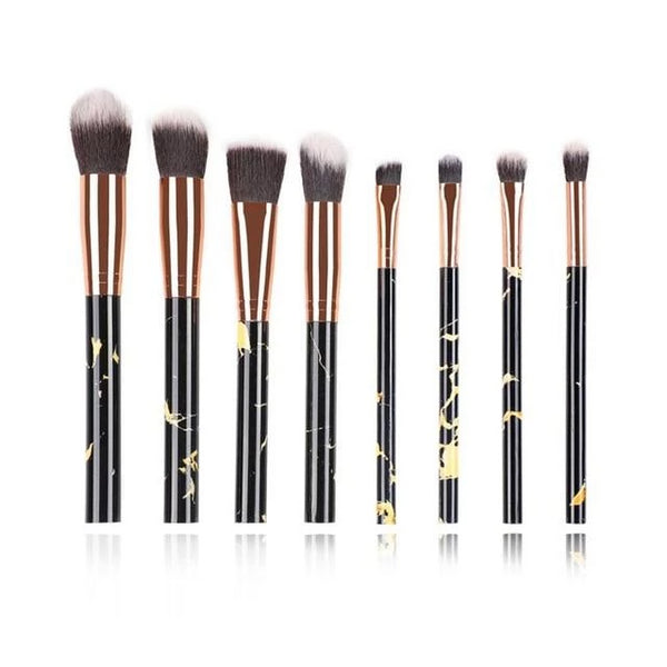 Fotina - Marble Pattern Professional Make-Up Brushes