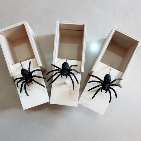 Jumping Spider Prank Box