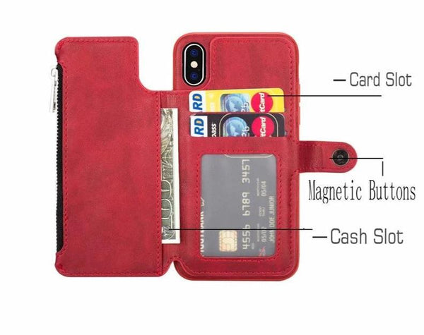 Luxury Multi-Card Phone Cover