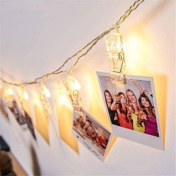 Amigos - LED Clip String Lights