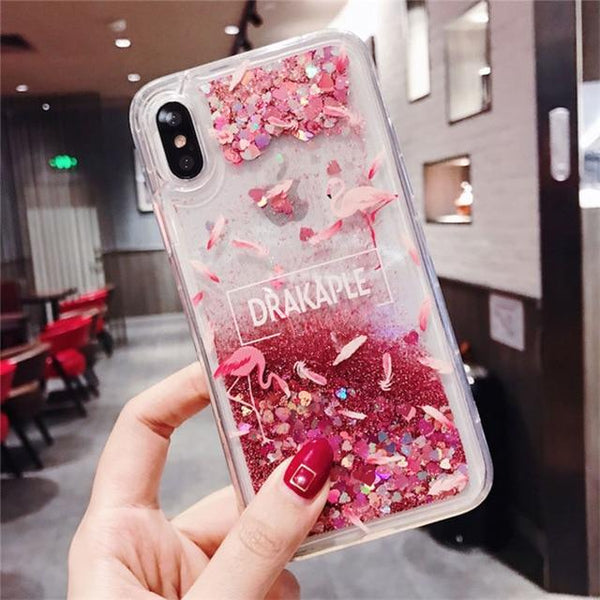 Pretty in Pink Sparkle Phone Case