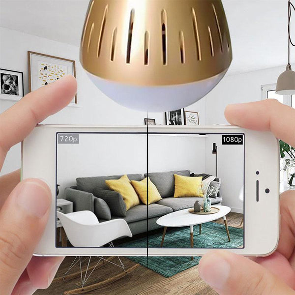 HD 360° Security Camera Light Bulb