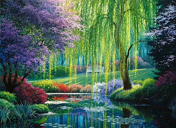 Willow Tree Garden - GemPaint™ Kit