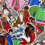 Desi Royalty: Assorted Stickers (5-Pack)
