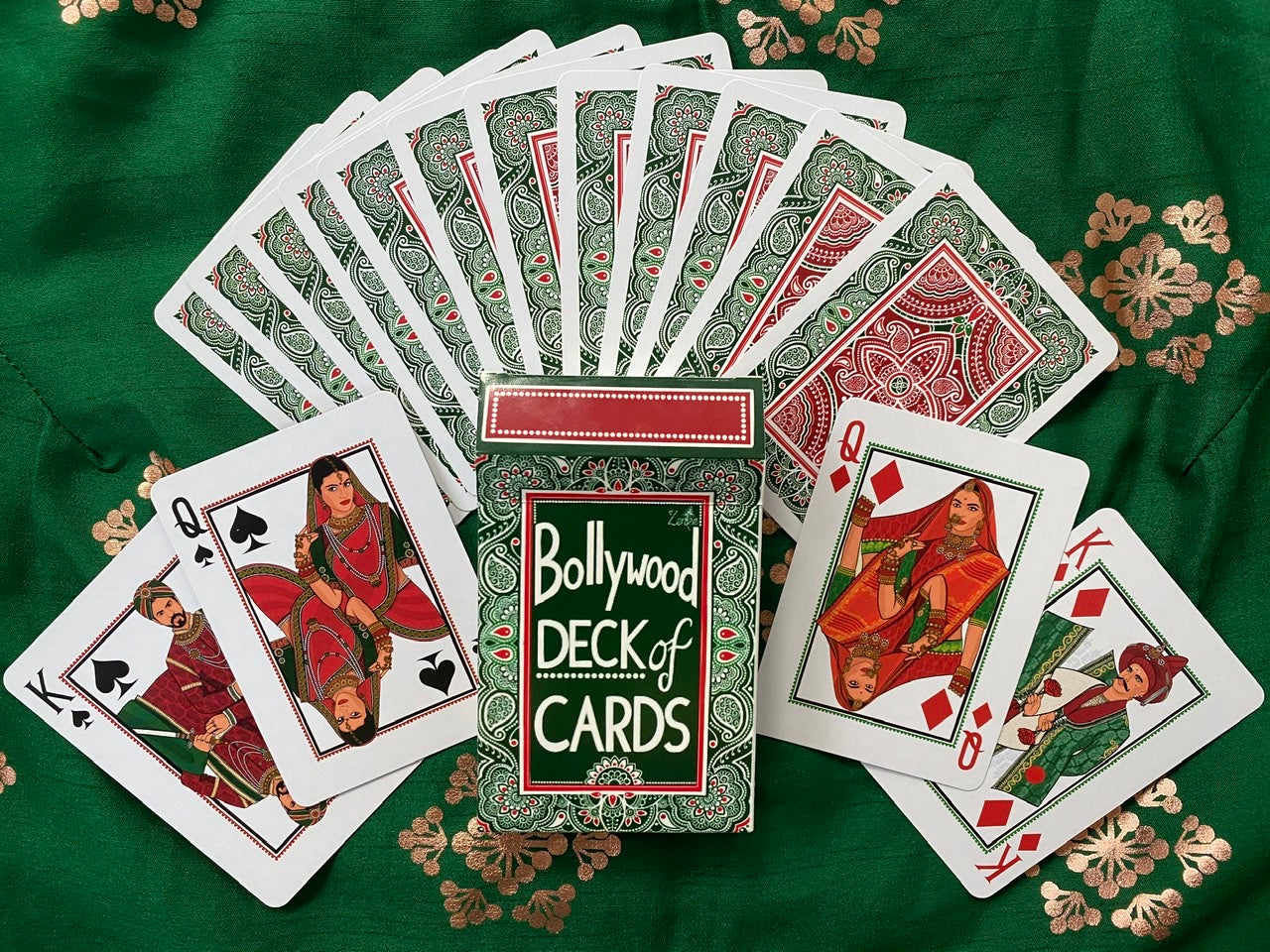 Bollywood Deck of Cards